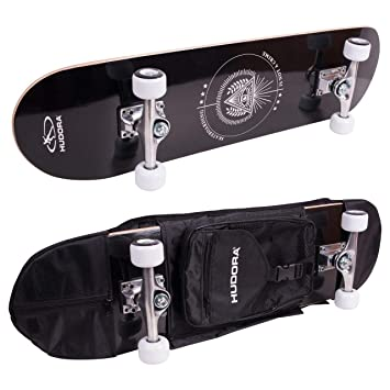 8226c7d9488235 HUDORA Skateboard Columbia Heights ABEC 3 mit Rucksack - Skateboarding