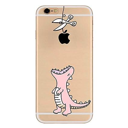 efd81e3ee64 ZQ-Link Funda iPhone 6 Carcasa Protectora Silicona TPU Funda Suave Soft  Silicone Case Cover