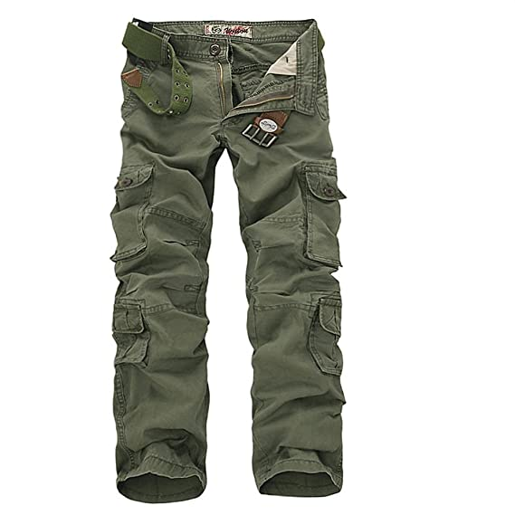 special for shoe complete in specifications beauty Sunshey Mens Casual Combat Cargo Pants Trousers Loose Cotton Work Wear  Camouflage Trousers