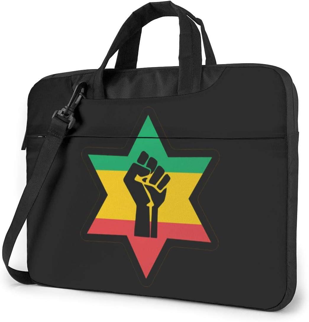 Exquisite Style.15.6 Inch Briefcase N//D African Black Power Waterproof Laptop Shoulder Messenger Bag Unisex Computer Protective Case