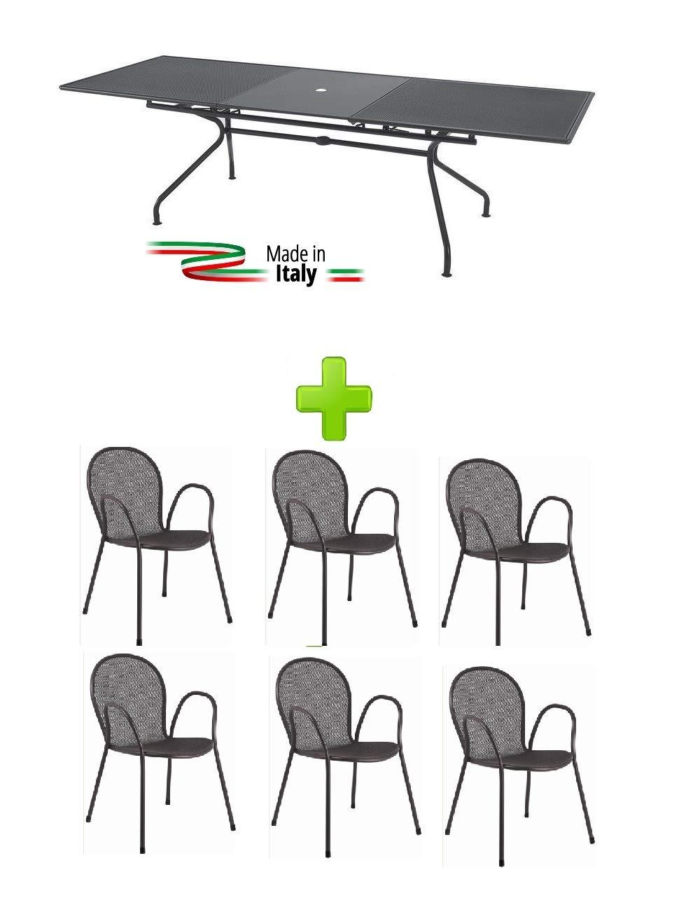 EMU Mesa para Exterior Extensible Modelo Athena Marca tamaño ...