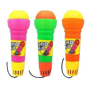 YeahiBaby 3 Piezas Micrófonos para Niños con Echo para ...