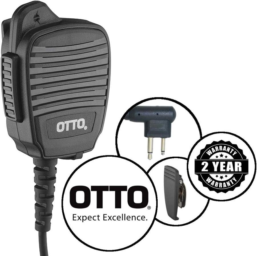 Otto Noise Cancel Remote Shoulder Mic Motorola CP200D CP200 CP185 BPR40 PR400
