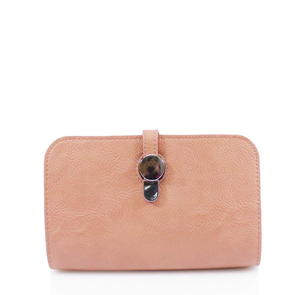 LeahWard Womens 2-in1 Purse Card Holder Clutch Bag Bus Holder J56 Black