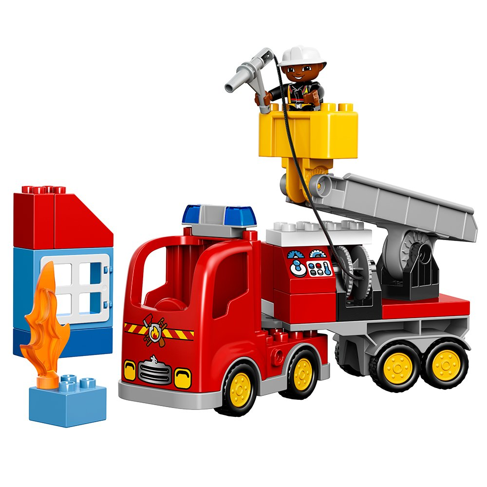 LEGO DUPLO  Fire Truck Building Kit