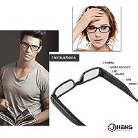 JC 16GB 1920x 1080P Cámara oculta gafas gafas