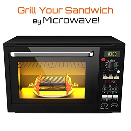 Amazon.com: Bandeja para microondas para hacer sándwiches ...