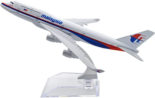 TANG DYNASTY(TM 1:400 16cm Boeing B747 Malaysia Airlines Metal Airplane Model Plane Toy Plane Model