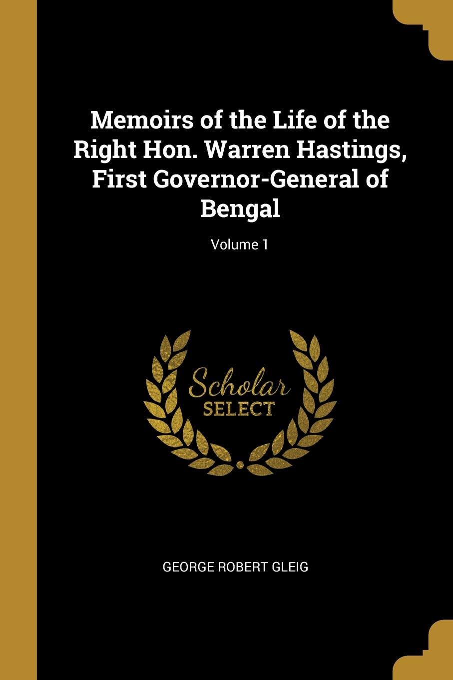 first governor general of bengal