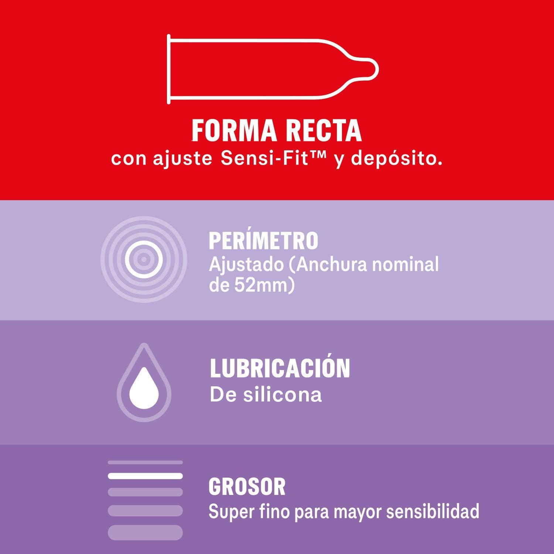 61LTQnTlVIL._AC_SL1500_ Durex Preservativos Super Finos Contacto Total - 12 condones: Salud y cuidado personal