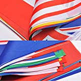 International Flags, G2PLUS 164 Feet 8.2 x 5.5 World Flags, 200 Countries Olympic Flags Pennant Banner for Bar, Party Decorations, Sports Clubs, Grand Opening, Festival Events Celebration
