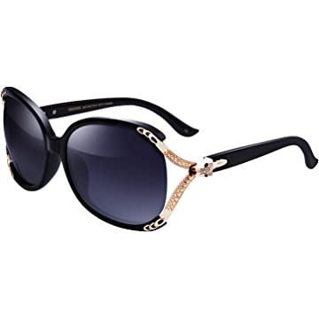 68e3a3f075d1 Top Rated. VEGOOS Womens Sunglasses Designer Polarized Ladies Shades  Oversized Mirrored Sunglasses UV400 Protection with Case