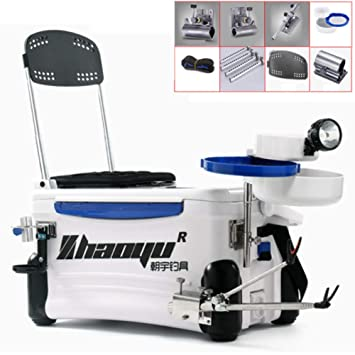 Amazon com : HYYQG Tackle Seat Box Fishing Seat Box Sea