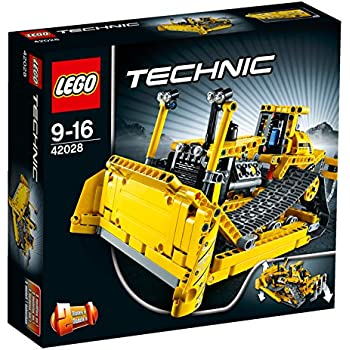 lego technic bulldozer 42028 toys games. Black Bedroom Furniture Sets. Home Design Ideas