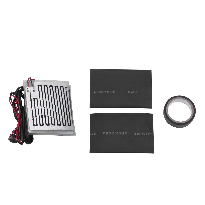 Calentador de apretones de motocicleta - SODIAL(R) Calentador de apretones de moto de ATV de manillar de puno del acelerador climatizado de ...