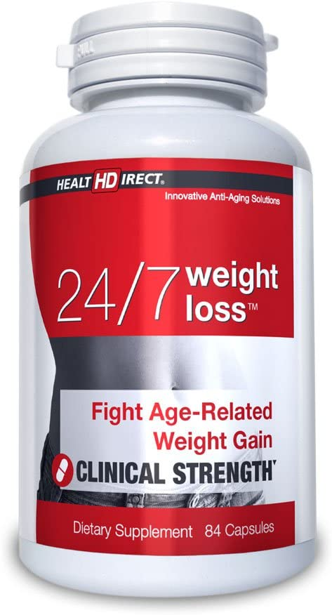 24 7 Weight Loss specialty shop Age-Related 84 Capsules f Gelatin 70% OFF Outlet