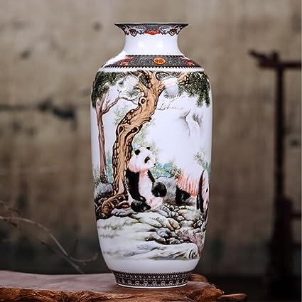 Amazon Estinko Jingdezhen White Ceramic Vase Vintage Chinese