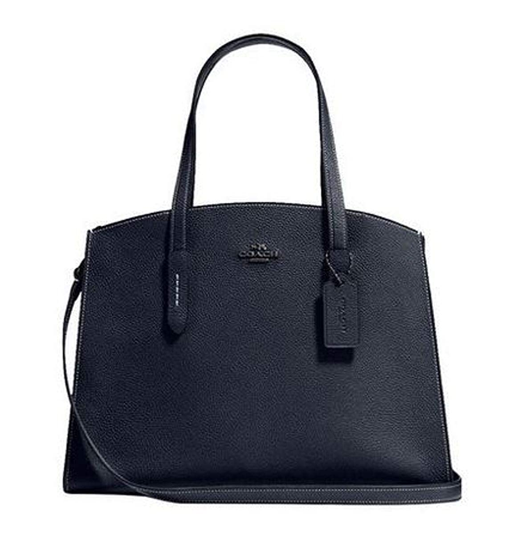 ebf0aab948 Amazon.com  COACH Women s Polished Pebble Leather Charlie Carryall One Size  25137-DKBHP  Shoes