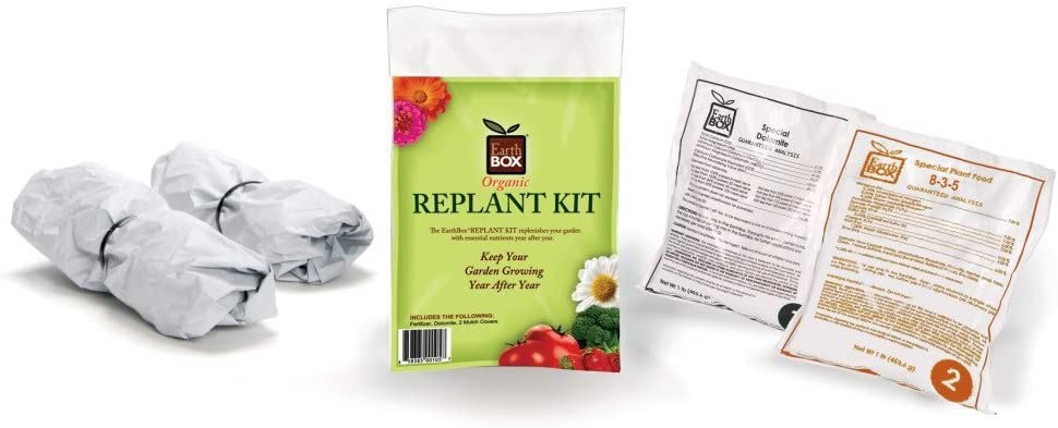 EarthBox 1010041 Organic Replant Kit Pack of 2