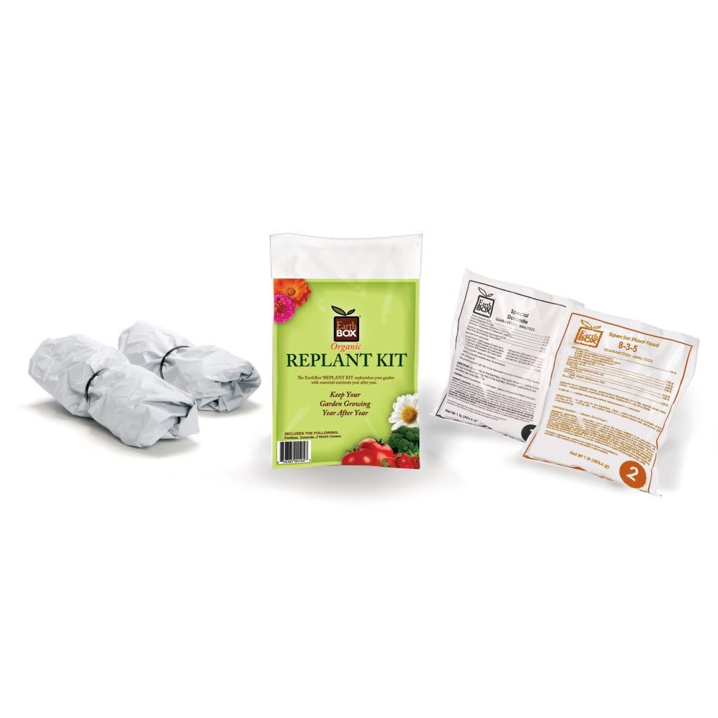 EarthBox 1010041 Organic Replant Kit (Pack of 3)