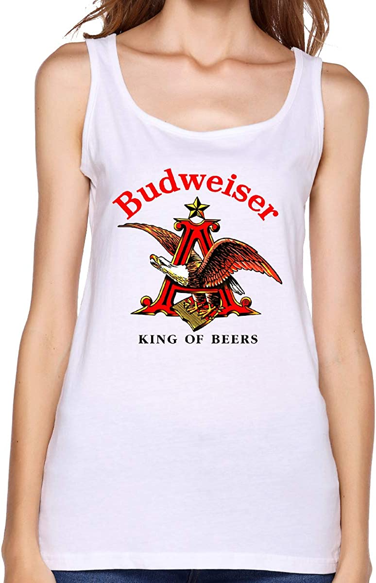 Fashion Budweiser All Over Tank Top