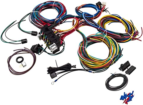 [DIAGRAM_4FR]  Amazon.com: Universal 21 Circuit 17 Fuses Wiring Harness Street Hot rod Wire  Kit for GM CHEVY New Extra Long: Automotive   21 Ez Circuits Wiring Harness      Amazon.com