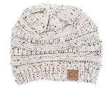 Funky Junque H-6033-67 Confetti Knit Beanie - Oatmeal