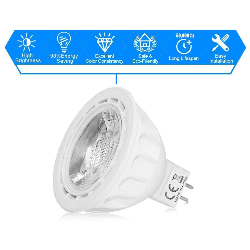 lightstory mr16 led bulbs 12 volt 5w 450lm 50w halogen bulbs equivalent 711463177368 ebay. Black Bedroom Furniture Sets. Home Design Ideas