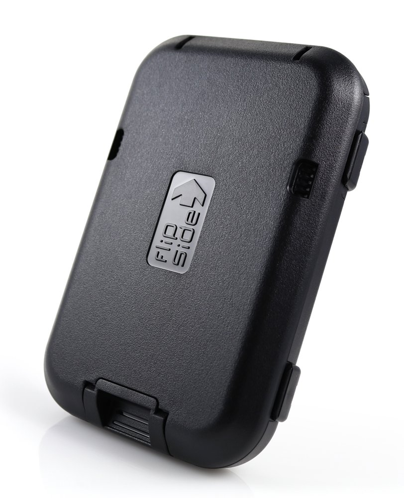Flipside Wallets New RFID Blocking Flipside 4 Wallet (Stealth Black)