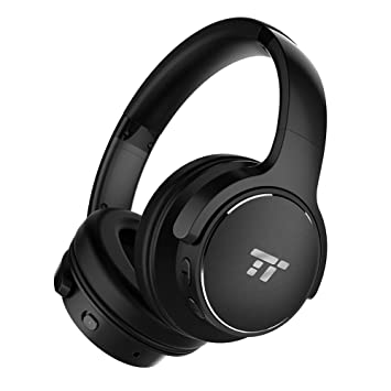 TaoTronics - Auriculares inalámbricos con cancelación de ruido (Bluetooth, 30 horas de reproducción,