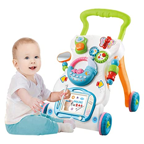 MENGWF Andador para Bebés, Adecuado para Bebés Y Niños ...