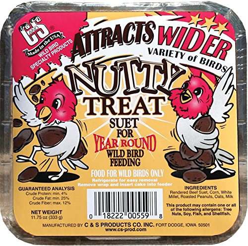 C and S CS12559 Nutty Treat C and S Products Company Inc