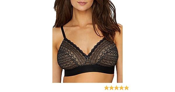 5945f5f3e7dd9 Cleo by Panache Lyzy Triangle Non Wire Bra (9766) 28D Black at Amazon  Women s Clothing store