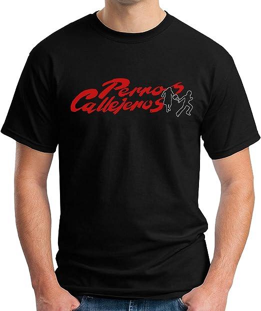 Desconocido 35mm - Camiseta Hombre Perros Callejeros - Torete - Vaquilla - Cine Kinki - Logo