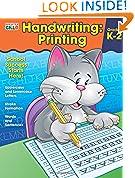 #10: Handwriting: Printing Workbook (Brighter Child: Grades K-2)