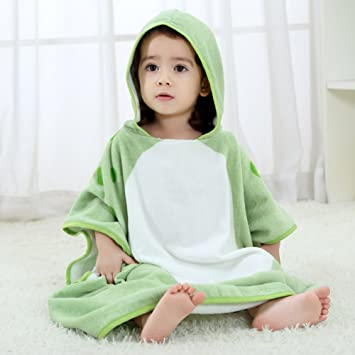Professional Sale Hooded Animal Cotton Baby Bath Towel Lovely Children Cloak Bathrobe Boys Girls Soft Comfortable Kids Bathrobe Baby Washcloth Towels