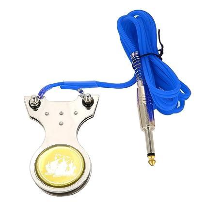 Interruptor Antideslizante Del Pedal Del Tatuaje Para la Fuente de ...