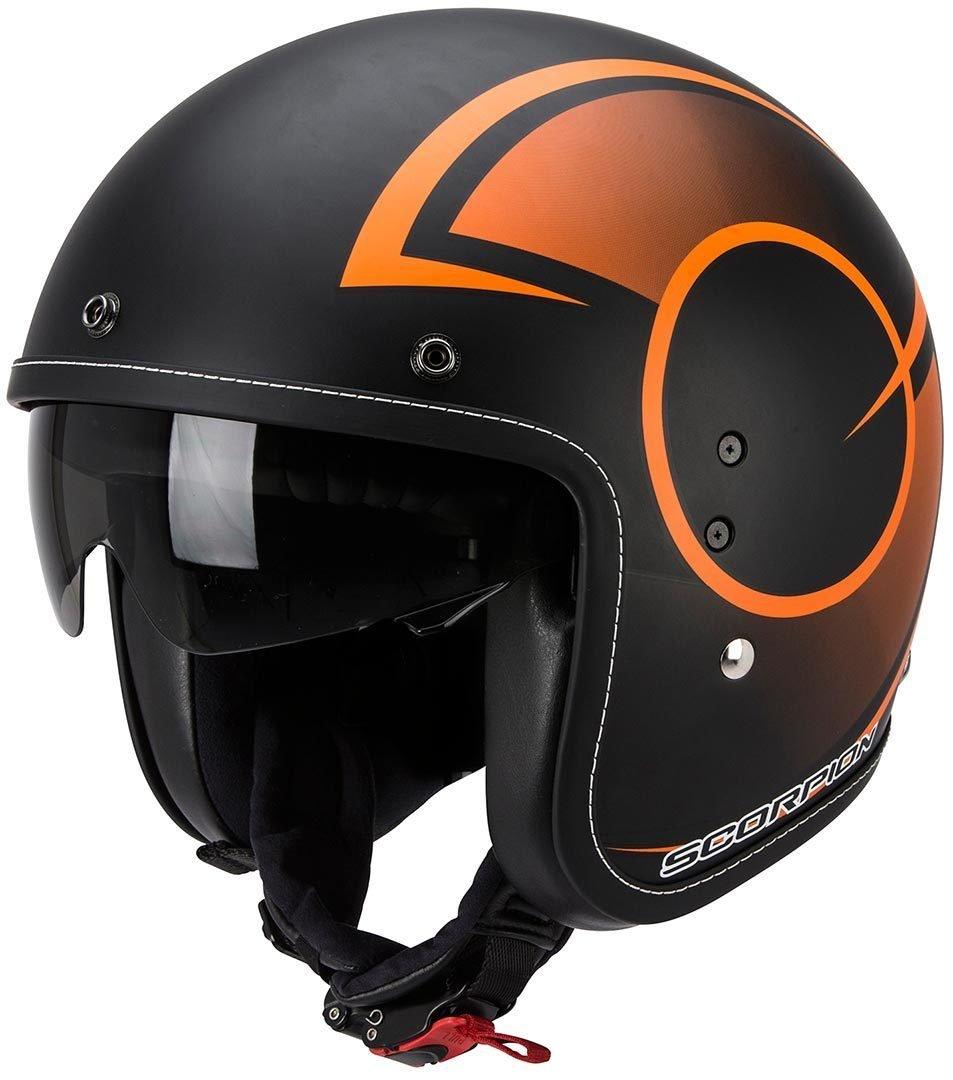 Scorpion スコーピオン Belfast Citurban Helmet 2016モデル ヘルメット ブラック/オレンジ XS(53~54cm) B01JHLCROE