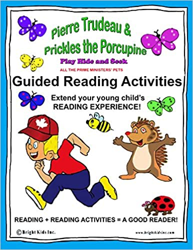 Descarga de libros electrónicos en línea gratisGuided Reading Activities - Pierre Tudeau and Prickles the Porcupine Play Hide and Seek!: All the Prime Ministers' Pets B01BCX3MEY (Literatura española) MOBI