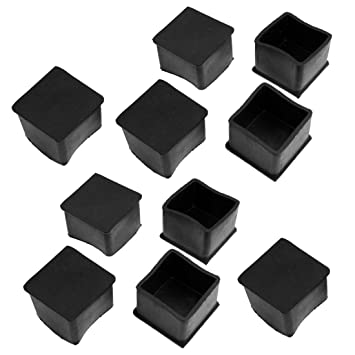 Square Furniture Leg Caps Home Decor