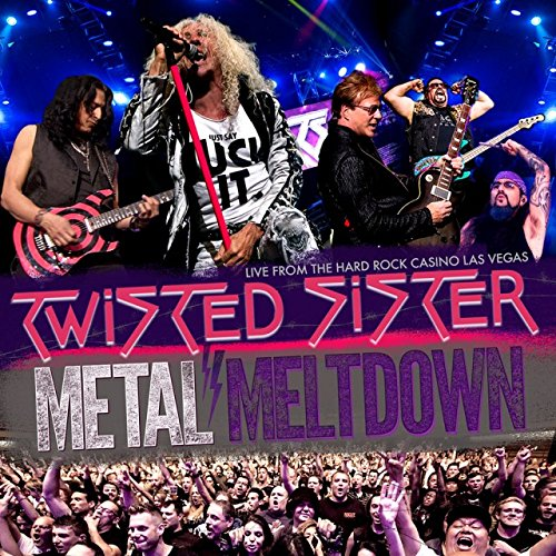 Blu-ray : Twisted Sister - Metal Meltdown [Explicit Content] (With DVD, With CD, 3 Disc)