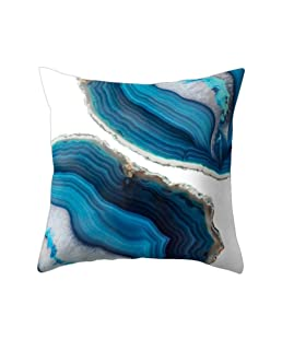 wintefei Modern Living Room Decoration Abstract Square Pillow Case Cushion Cover-11#