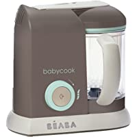 BEABA Babycook 4 in 1 Steam Cooker and Blender, 4.5 cups, Dishwasher Safe, Latte Mint
