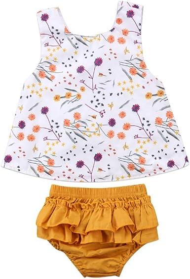 Wang-RX Moda para niños pequeños para bebés Ropa para niña ...