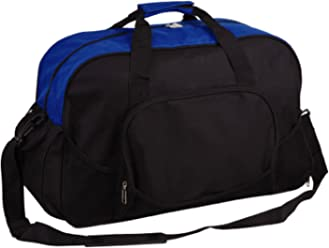 99c016f49e31 Deluxe Sports Gym Travel Work School Duffle Duffel Bag with Shoe Storage  Pocket