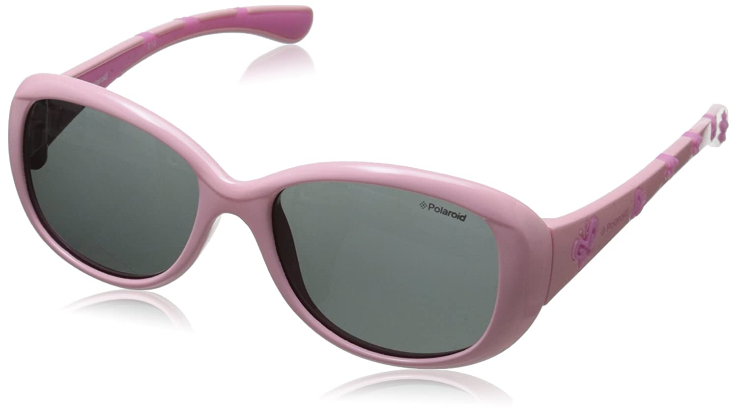 Polaroid Sunglasses P0411S Polarized Oval Sunglasses Pink 45 mm P0411 Y23ZJ_