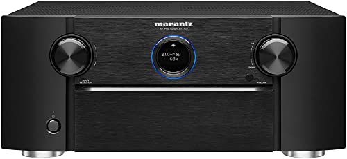 Marantz AV7704 11.2 Channel AV Audio Component Pre-Amplifier Auro-3D, Dolby Surround Sound Stream music via Wi-Fi, Bluetooth, AirPlay 2 HEOS, Alexa Compatibility Discontinued by Manufacturer
