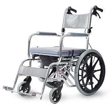 Personas mayores Silla ruedas Luz Bañera aluminio ...