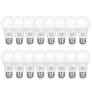 Hykolity 24 Pack 60W Equivalent A19 LED Light Bulb, 9W, 3000K Warm White, 800LM, E26 Medium Base, Non-Dimmable, UL Listed