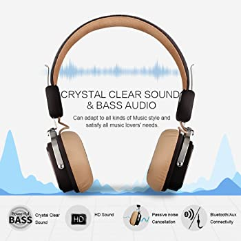 OneOdio On-Ear Wireless Bluetooth Headphones